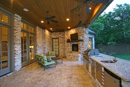 Custom home in Dallas
