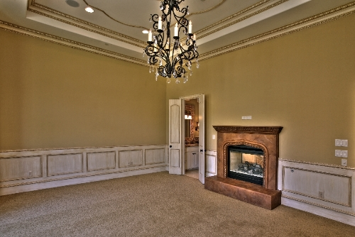 Custom family room
