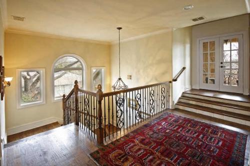 Upstairs in custom home